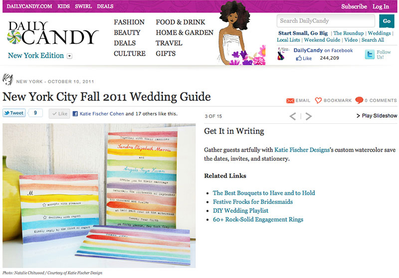 Daily Candy Fall 2011
