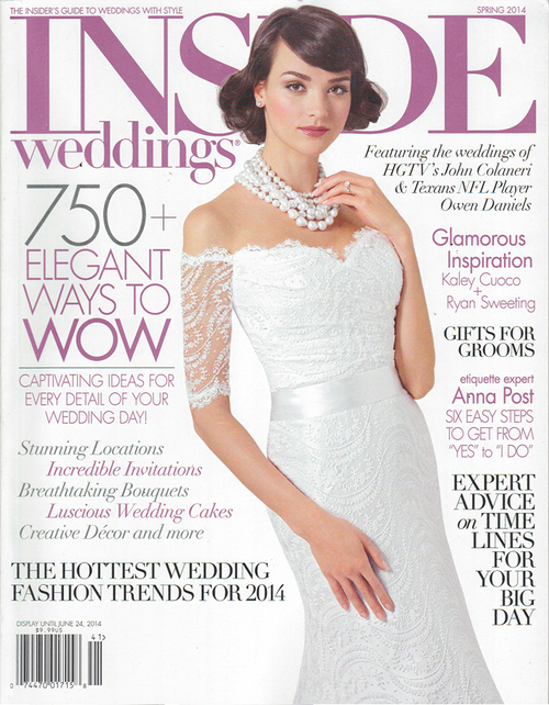 Inside Weddings Summer 2014