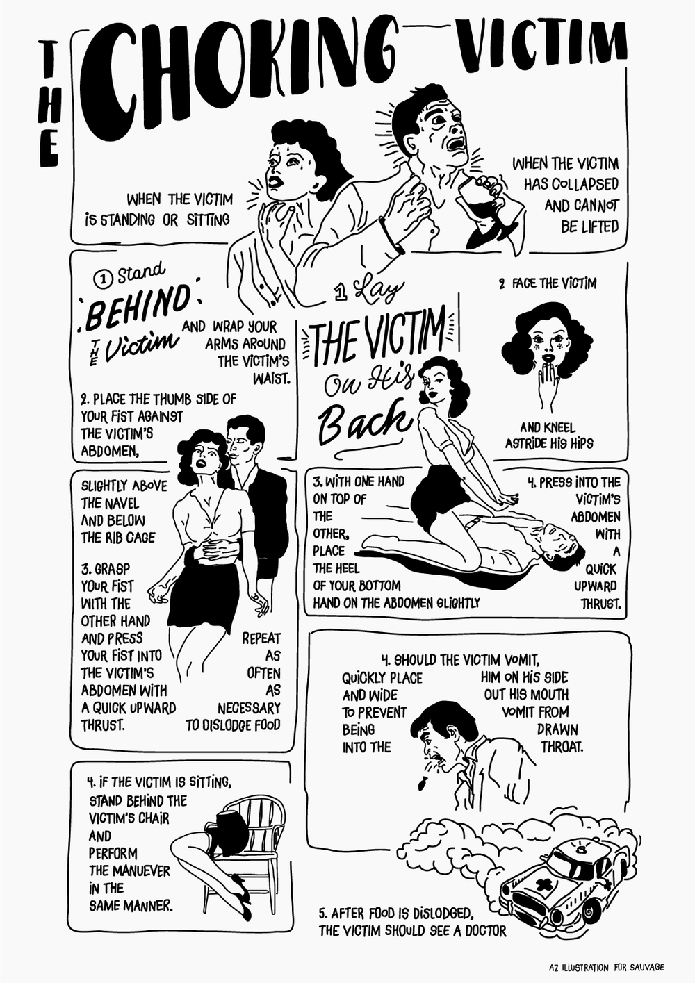 Choking Victim Poster