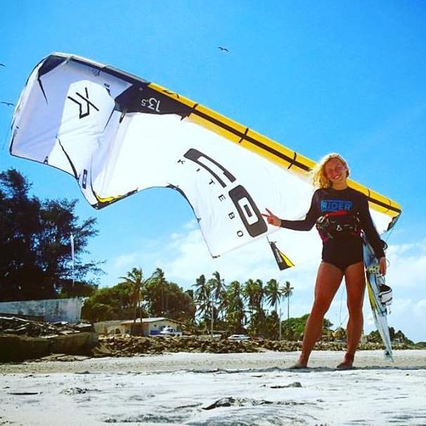Johanna Cecilia KB4G Ambassador & Kitesurfing Instructor