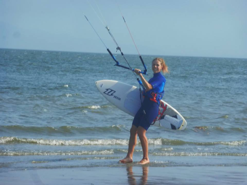 Charlotte Rider Panama kitesurfing guesthouse assistant manager