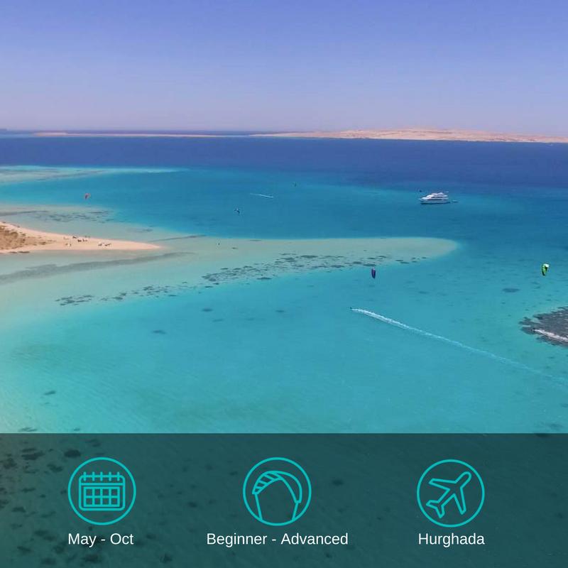 Egypt Kitesurfing Cruise