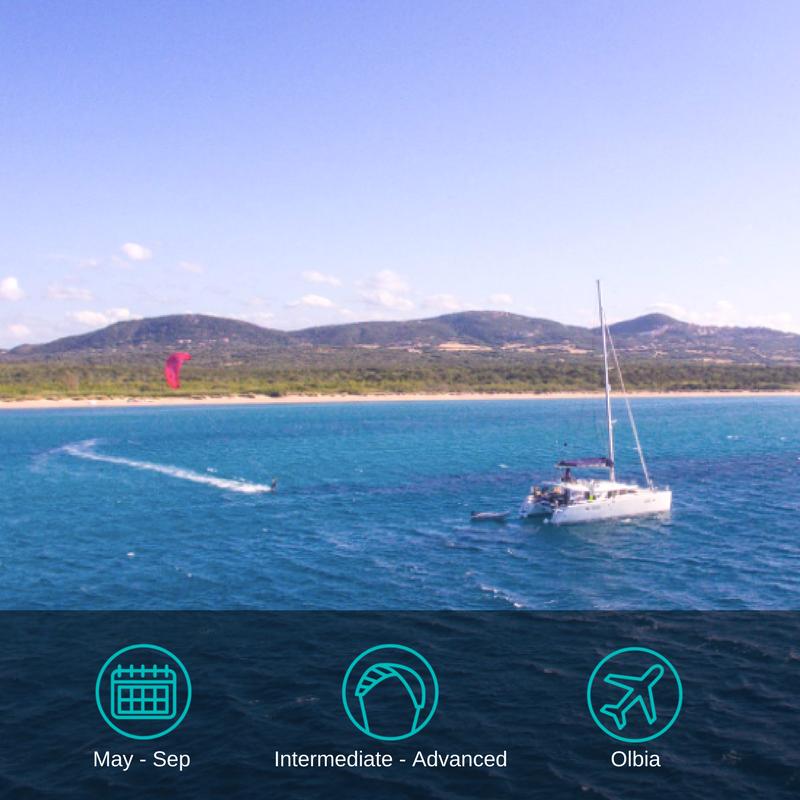 Sardinia Kitesurfing Cruise