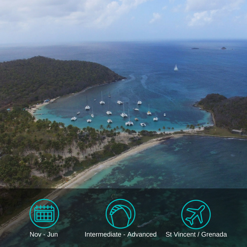 ....Grenadines Kitesurfing Cruise..Kitecruise auf den Grenadinen....