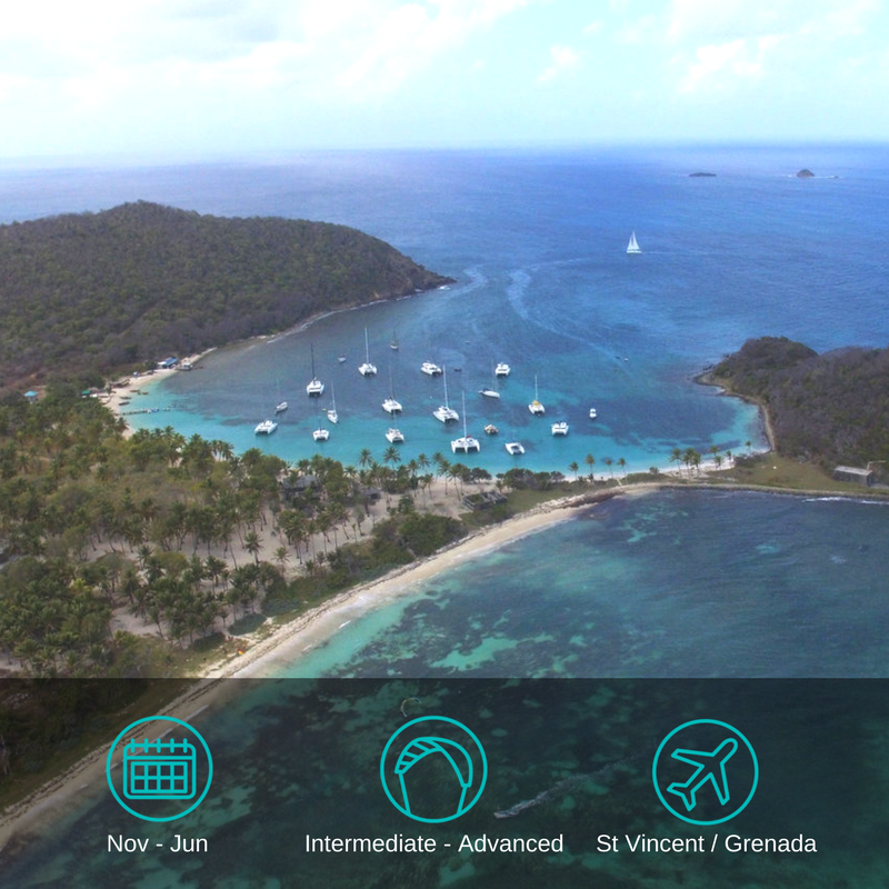 ....Grenadines Kitesurfing Cruise..Kitesurfing Cruise auf den Grenadinen....
