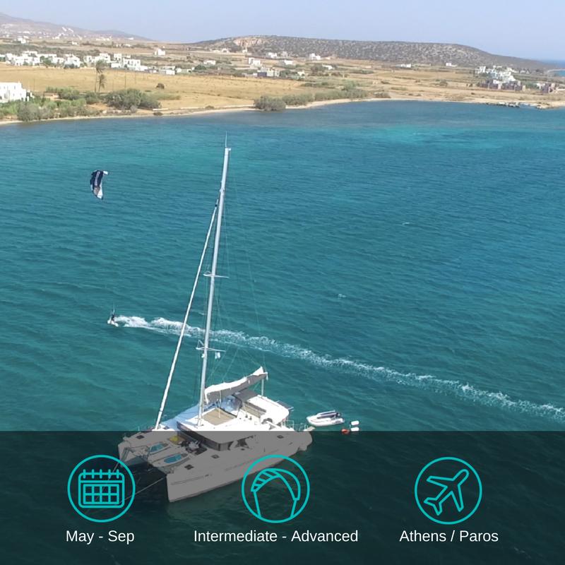 ....Greece Kitesurfing Cruise..Kitecruise in Griechenland....