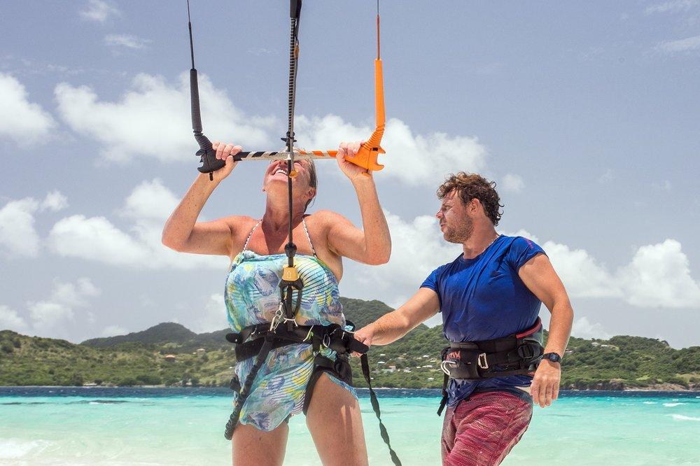 ....Grenadines Kitesurfing Guesthouse..Kitesurfing Guesthouse auf den Grenadinen....