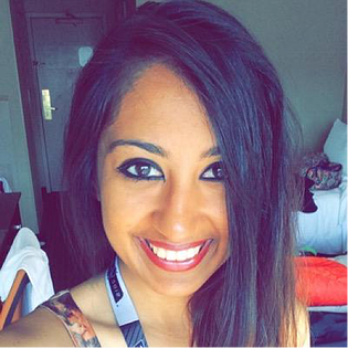 Tina Jain, Social Media Coordinator for the National Hockey League