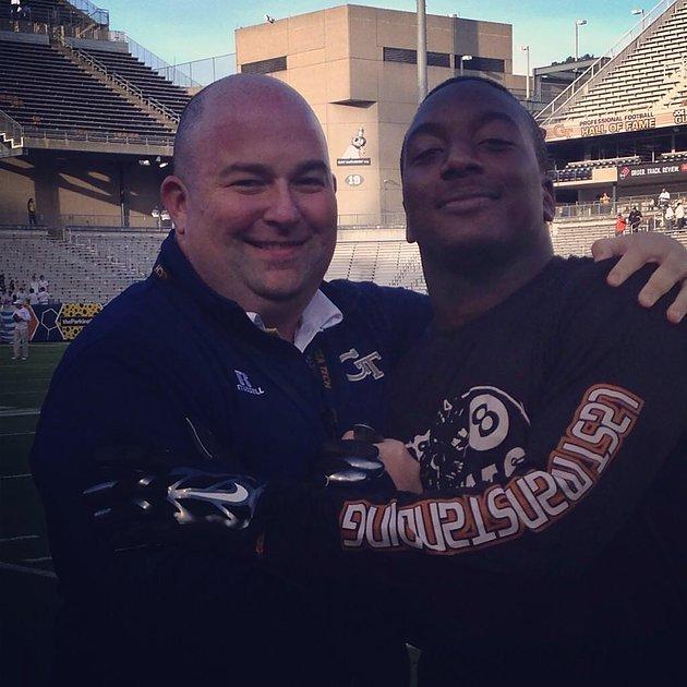 Chris and UM great Duke Johnson