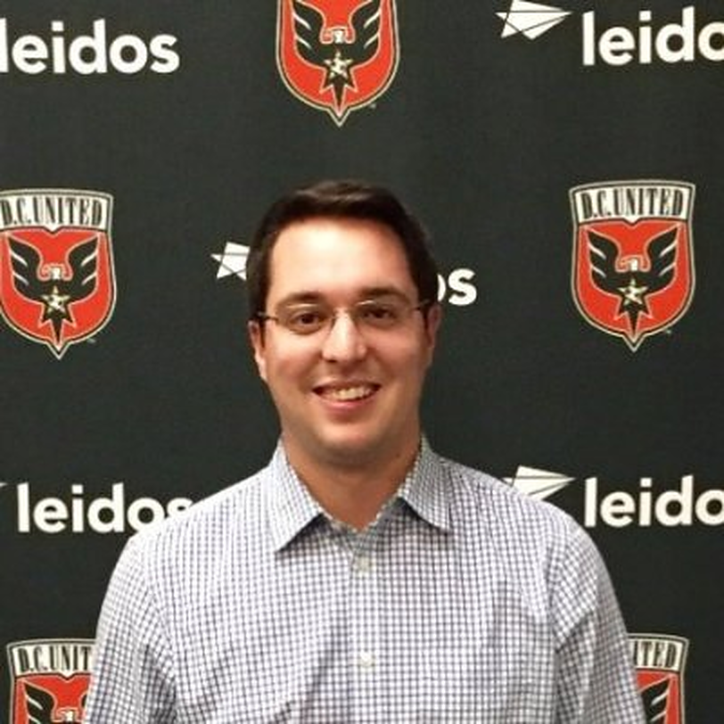 Zach Galkin, Manager of Corporate partnerships for DC United