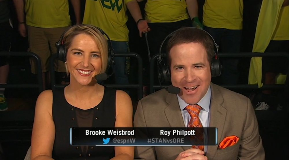 Roy Philpott, College Basketball Commentator for ESPN