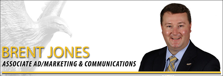 Brent Jones, Associate AD for Marketing and Communications at the University of Southern Mississippi