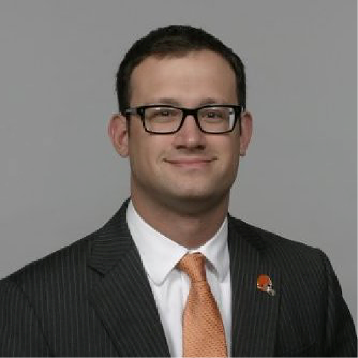 Mike Judge, the Senior Account Executive for the Cleveland Browns
