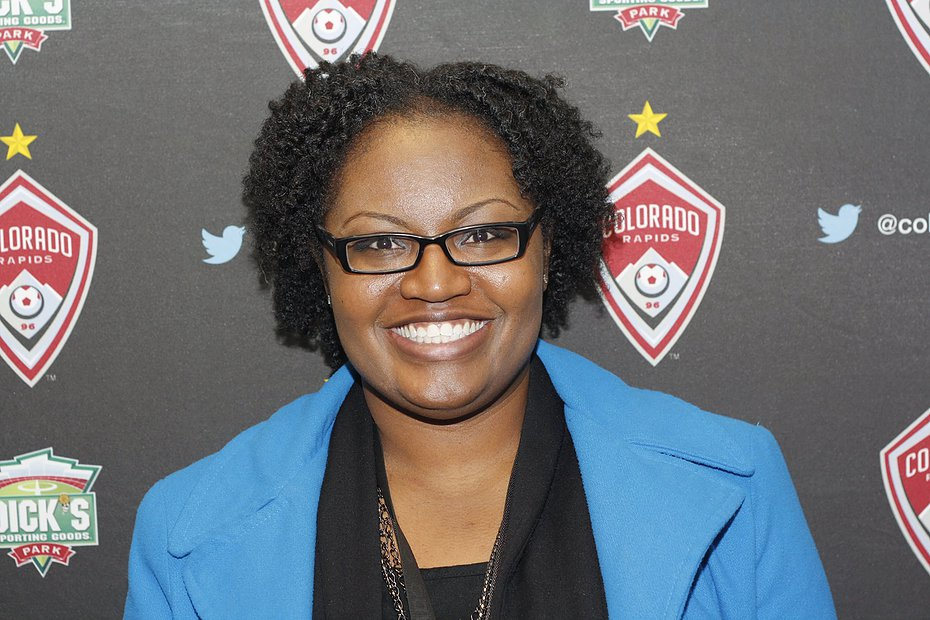 Tamara Curl-Green, Senior Marketing Manager for the Houston Dynamo & Dash
