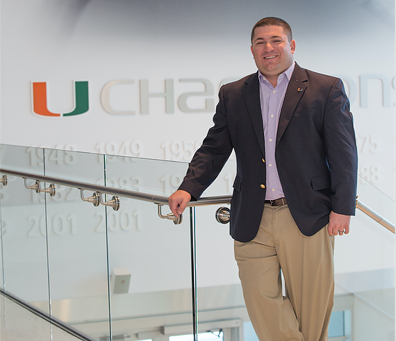 Jesse Marks, Associate Athletic Director for Development for the University of Miami