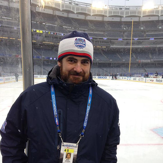 Brian Schiazza, a sports media professional