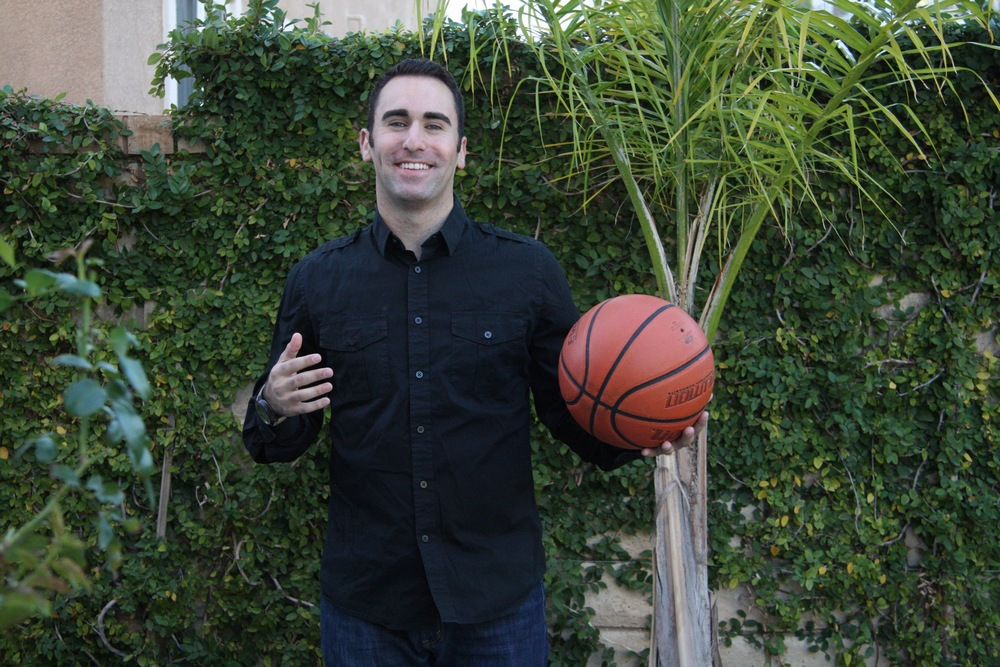 Jake Kelfer, Corporate Partnerships Assistant for the Los Angeles Lakers