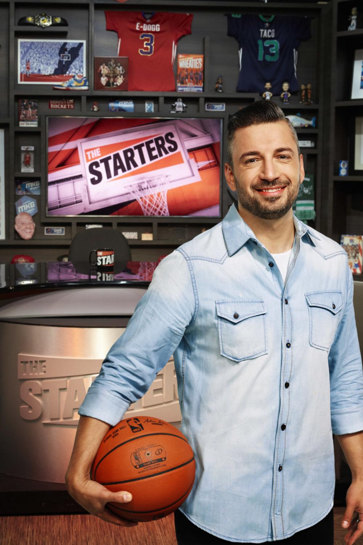 Tas Melas, Co-Host of The Starters