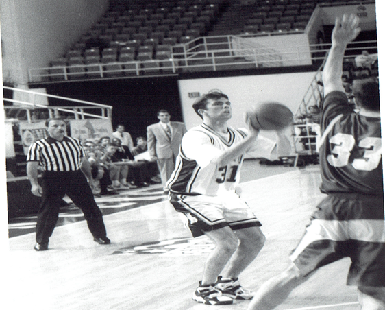 Vin during his playing days at Lehigh.