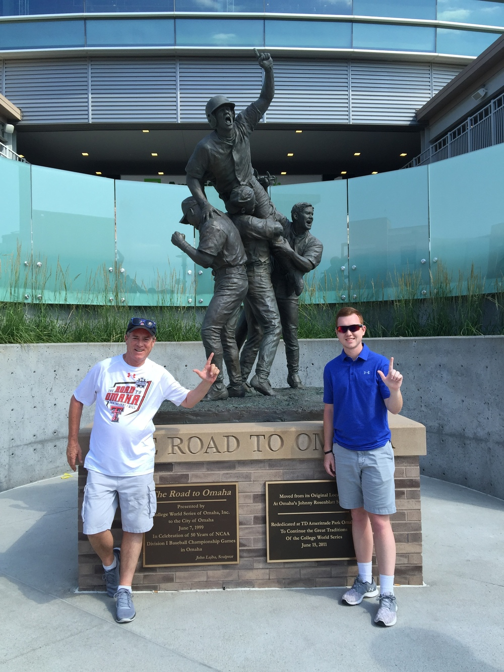 Todd and his Dad enjoying some time at the CWS!