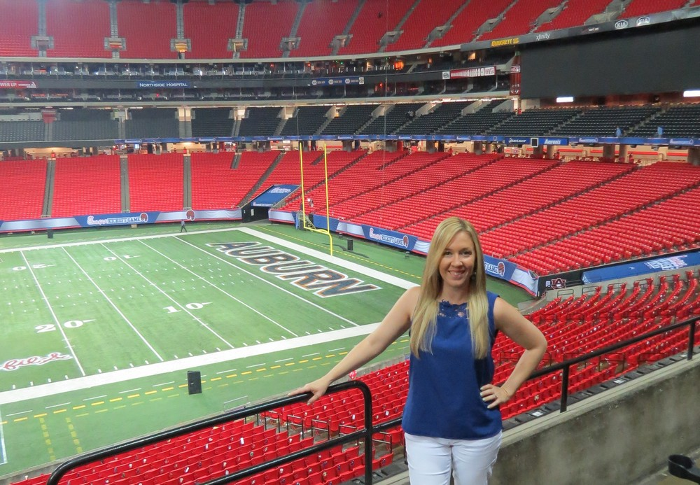Due to her work with ESPN and Forbes,Kristi has been able to cover sporting events across the country.