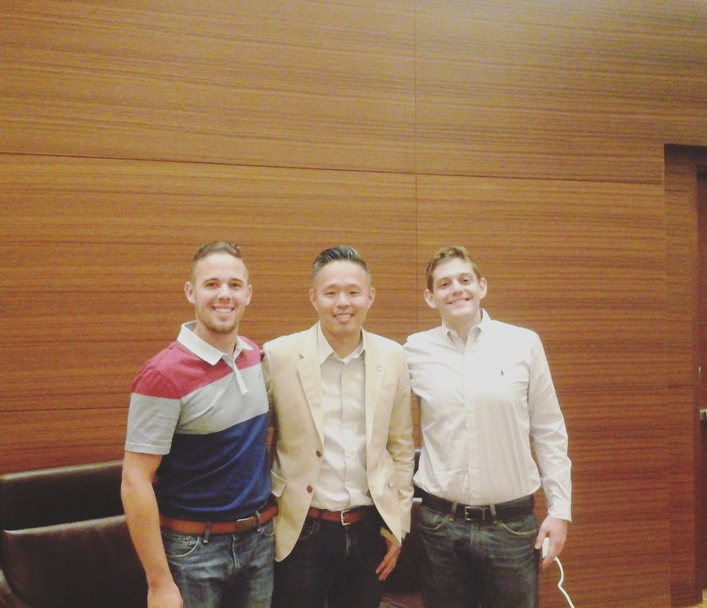 Hanging at SEAT 2016 Las Vegas with Adam White and Charlie Sung Shin!