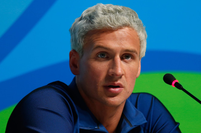 Ryan Lochte has been in the news for everything but his swimming performance recently. Photo via pagesix.com.