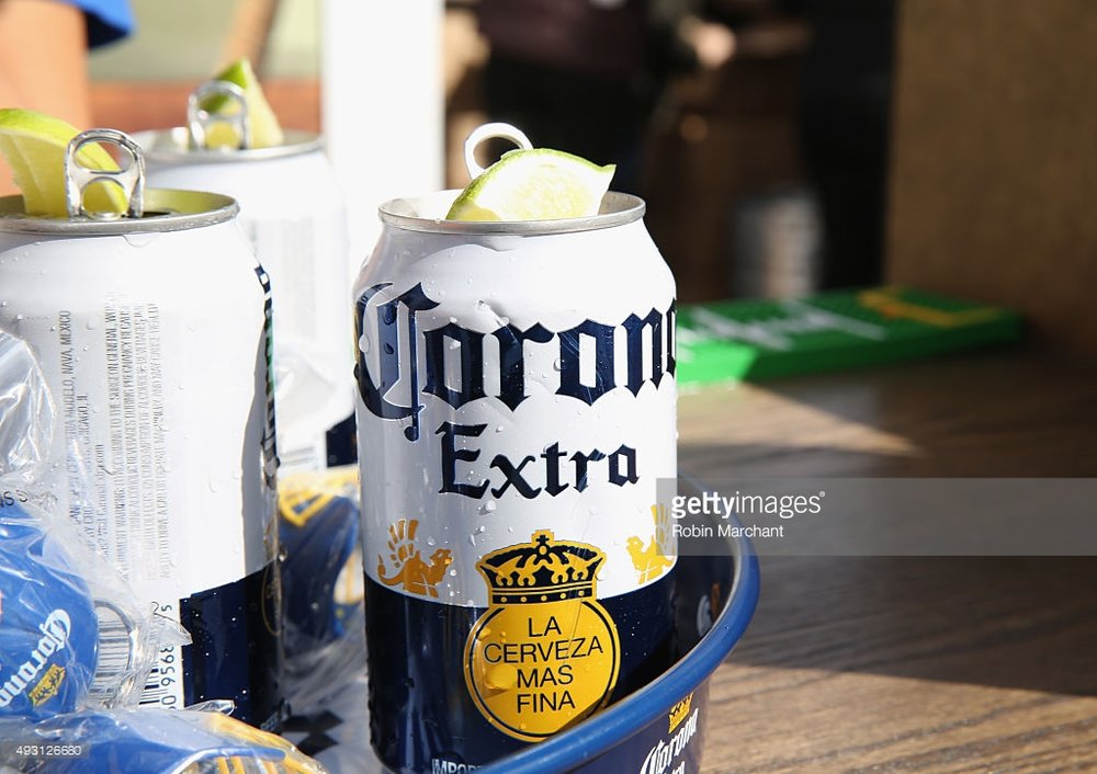 Corona's new 'Corona Can' (gettyimages.com)