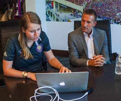 Stuart Drew,Social Media Manager at Orlando City SC