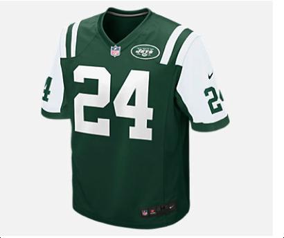 Jets' normal uniform Photo via Nike