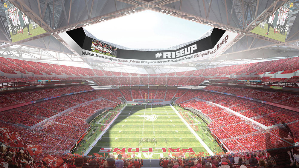 At the new Mercedes-Benz Stadium, fan-first pricing will be key to the experience. Photo via Mercedes-Benz Stadium