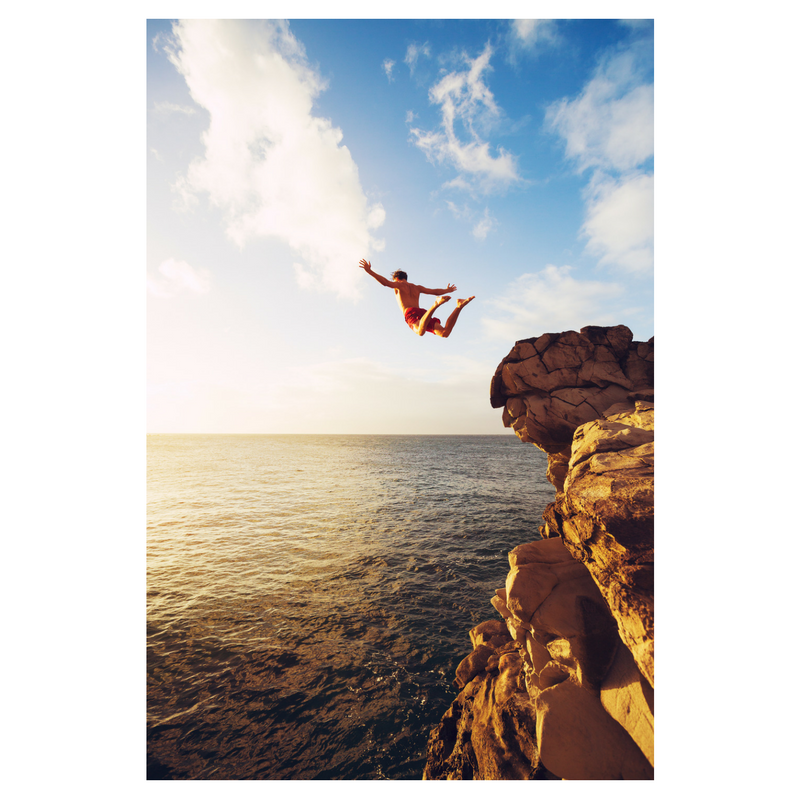 Taking that leap of faith is a critical step we all must consider in order to achieve the ultimate goal.