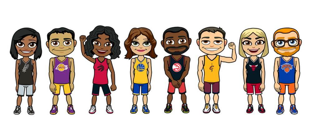 The NBA continues to grow its influence on the younger generation of sports fans, partnering with Bitmoji for personalized content. Lead Image Credit: SportTechie