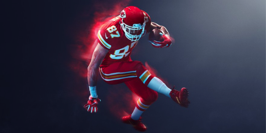 THANK GOD this is red and not yellow. Nike did a great job making the yellow accents actually look sweet. Do you know how hard it is to make yellow look good? They killed it here. The socks are also a game changer for me.