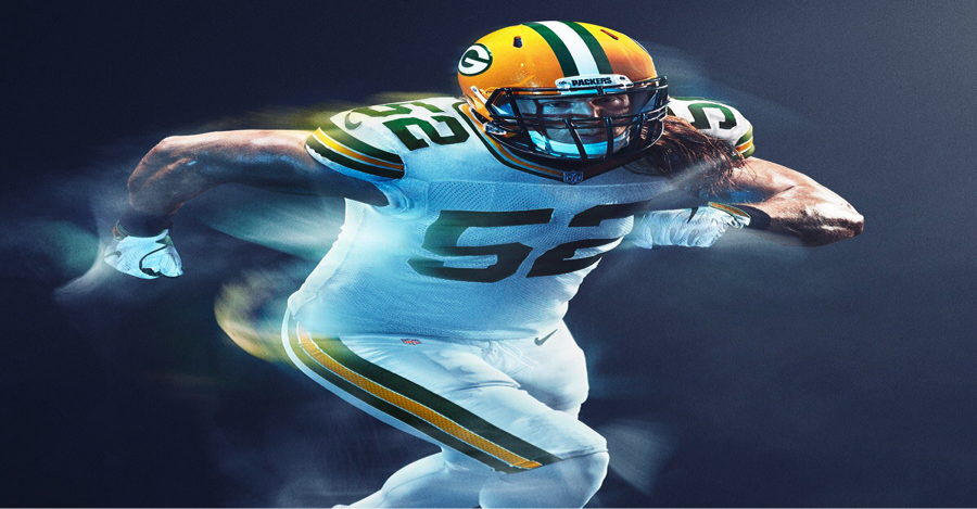 I would have liked to see Nike utilize the green or the yellow with this one. Looks too ordinary for me as white.