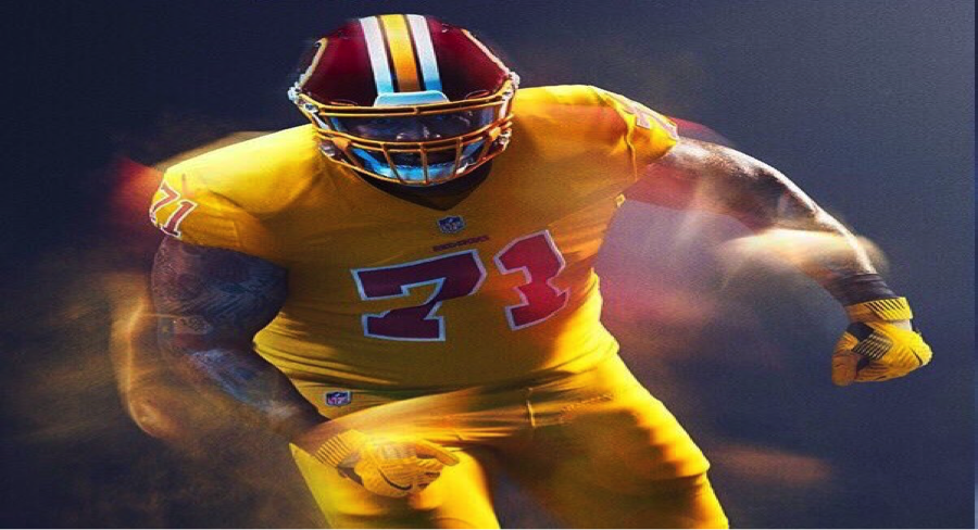 Holy UGLY. Never, ever make a uniform all yellow. I get its Color Rush, but wow.