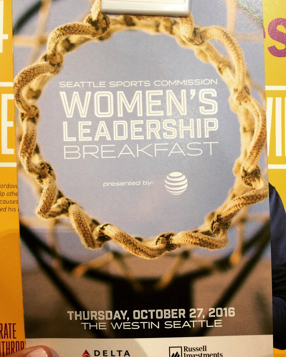 The Seattle Women's Leadership Breakfast gave women the chance to learn from and network with top female executives in the area.
