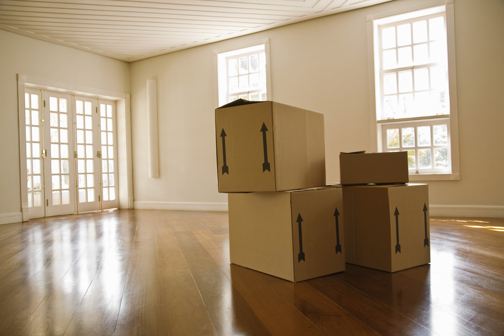 Moving can be tough, try to take away the positives. Image via Thinkstock