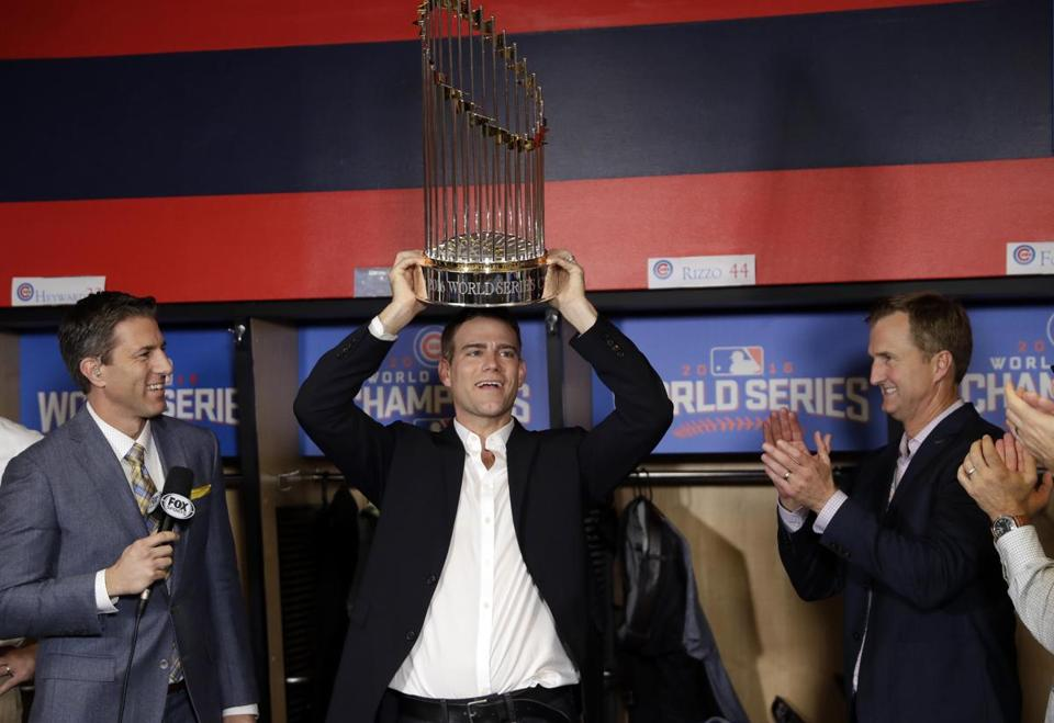 Theo Epstein has broken two of the longest curses in sports. Photo Courtesy of http://bcexcelsior.com/