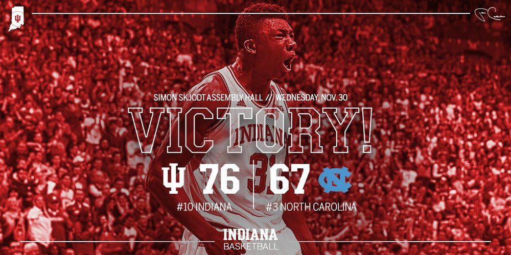 Assembly Hall was rocking as the Hoosiers hosted UNC in Bloomington. See Indiana's social media team and others in this week's SM Seven! Lead Image Credit: @IndianaMBB