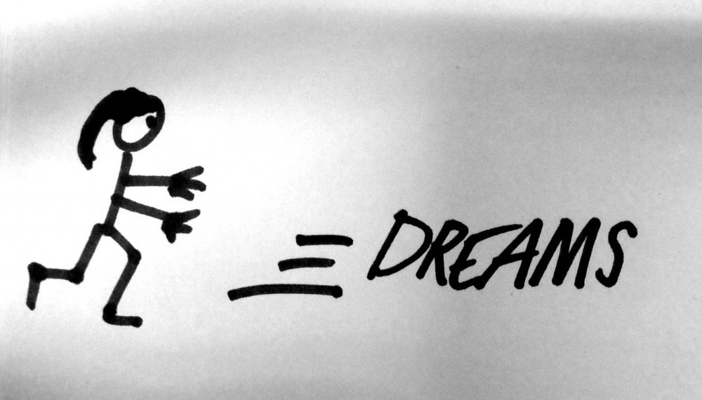 Chasing your dreams take a lot of work. Image via camdenwatts.com
