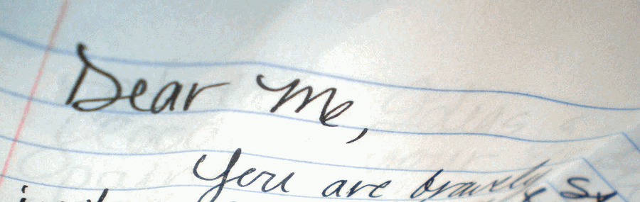 If you could write a letter to yourself, what would it say? Image via thereviewsarein.com