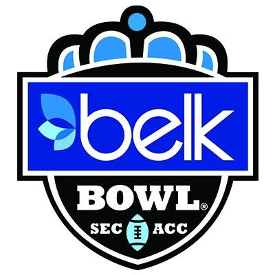 The Belk Bowl, hosted by the Charlotte Sports Foundation, has been noted as one of the best CFB Twitter accounts to follow by ESPN, and has a black belt in emoji usage. (image via the Belk Bowl)