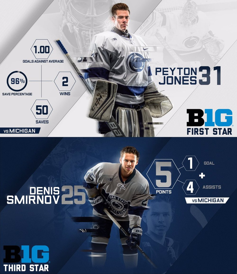 Penn State's hockey program has developed into one of the nation's strongest since it joined Division 1 in 2012-2013. Check out how they, along with other teams, celebrate goals on social! Lead Image Credit: @PennStMHKY