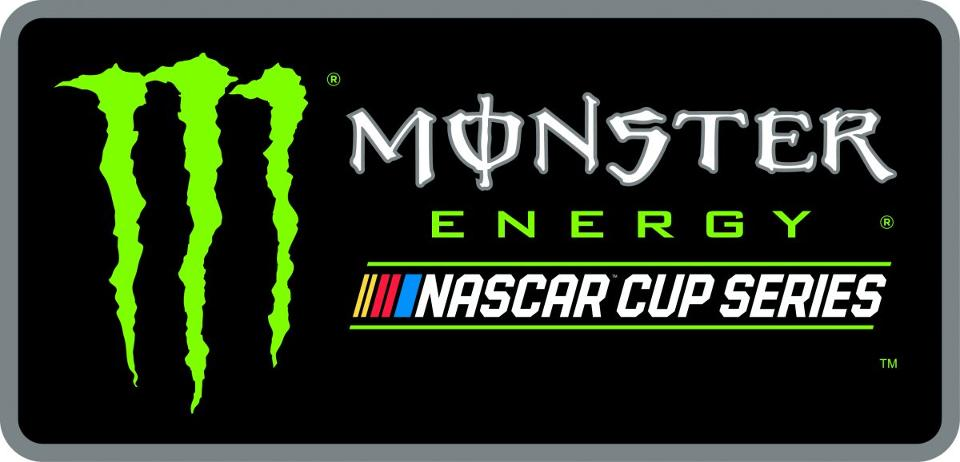 As of January 1st, this will be the new logo NASCAR uses as part of the new partnership with Monster Energy (image via NASCAR)