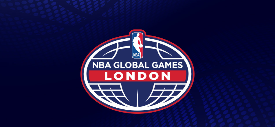 Earlier this month, the NBA held games in London and Mexico. Image via the NBA