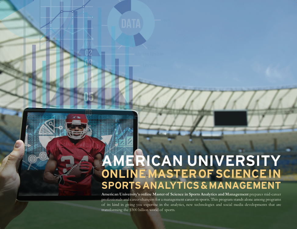 With a focus on data and analytics,American University's newest program hopes to capitalize on the a growing trend. Image via Matt Winkler