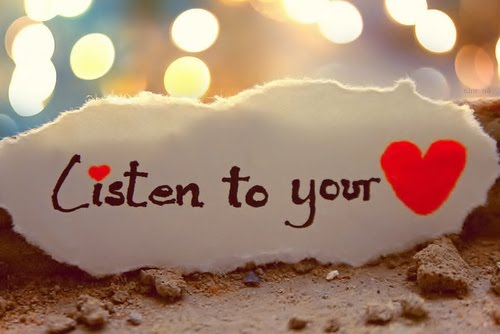 When all else fails, listen to the one thing that knows you the best. Photo via Pinterest