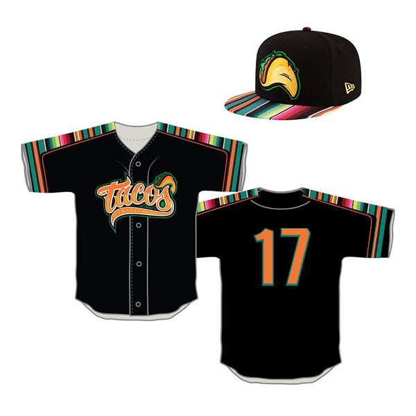 The Tacos' 2017 uniforms. Photo via Twitter