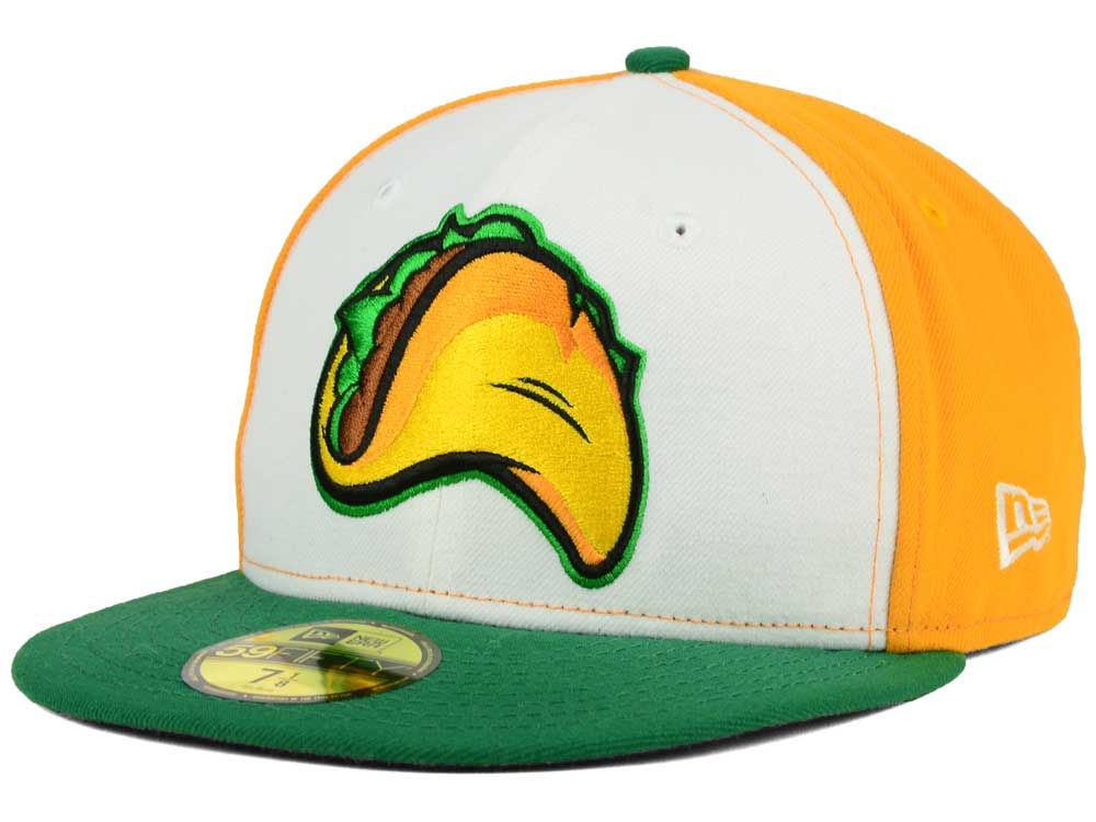 One of the many Taco hats available through Lids or Fresno's own online store. Photo via Lids.com